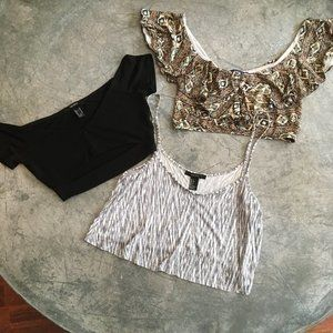 3 for $15- Forever 21 Crop Tops!